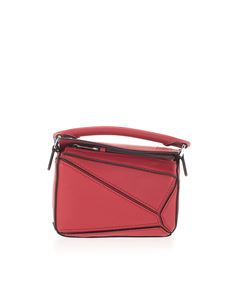 Loewe - Nano Puzzle bag in red