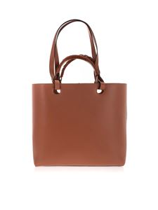 Loewe - Anagram Tote Bag in brown