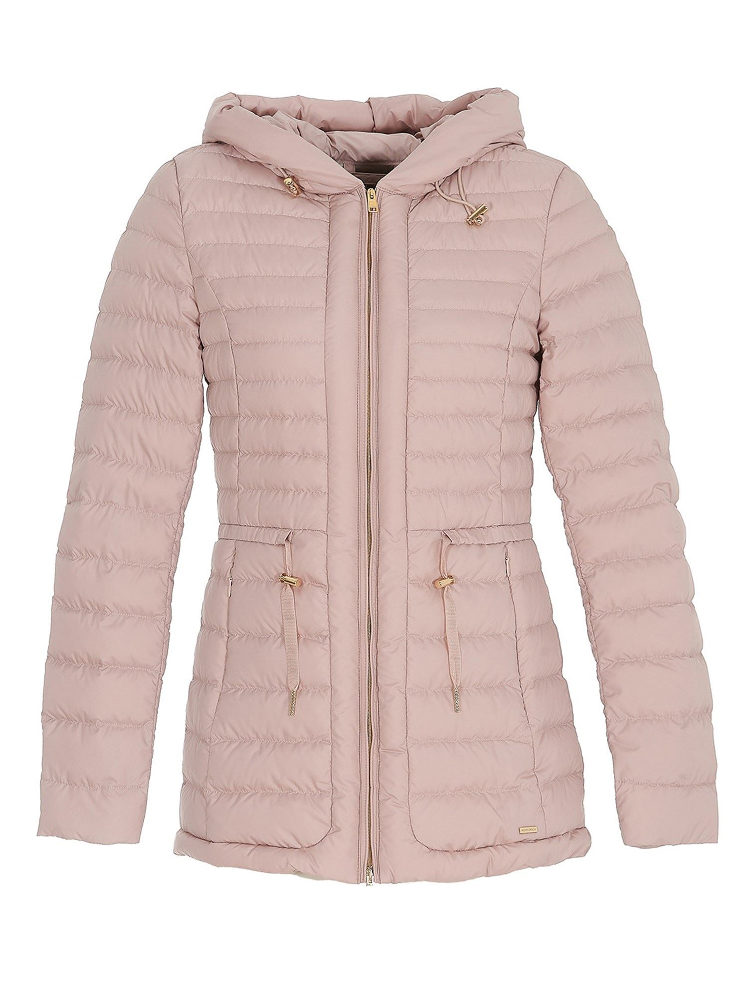 Woolrich QUILTED PUFFER JACKET IN PINK