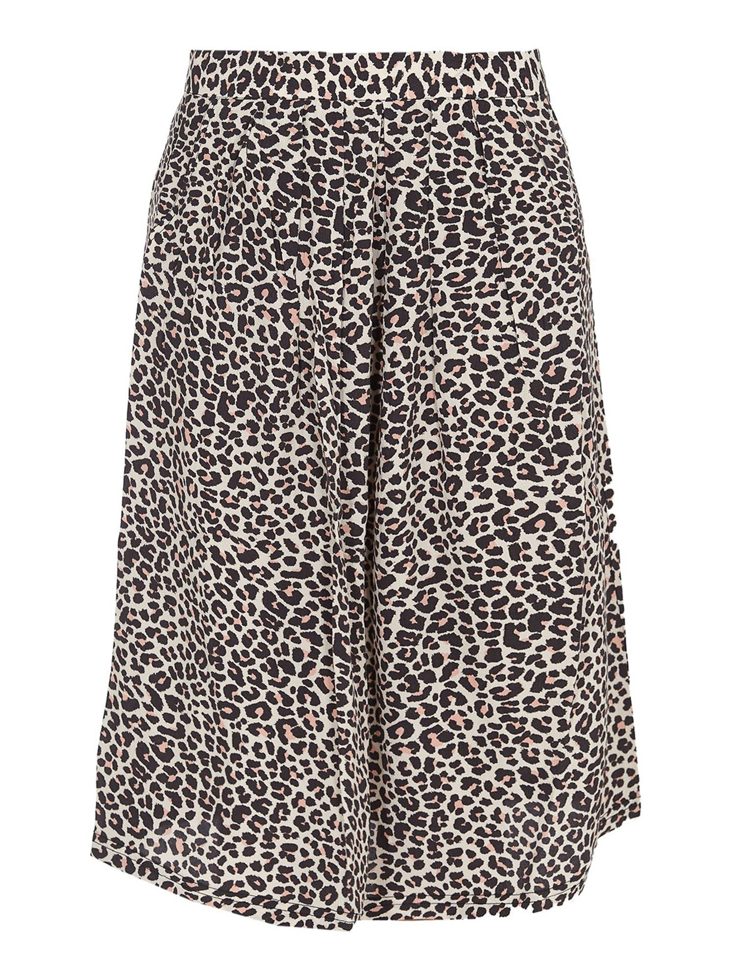 Zadig & Voltaire RECYCLED VISCOSE JUDE LEO GEO SKIRT