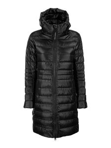Canada Goose - Cypress long puffer jacket in black