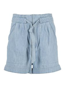 Isabel Marant Étoile - Marius shorts in light blue