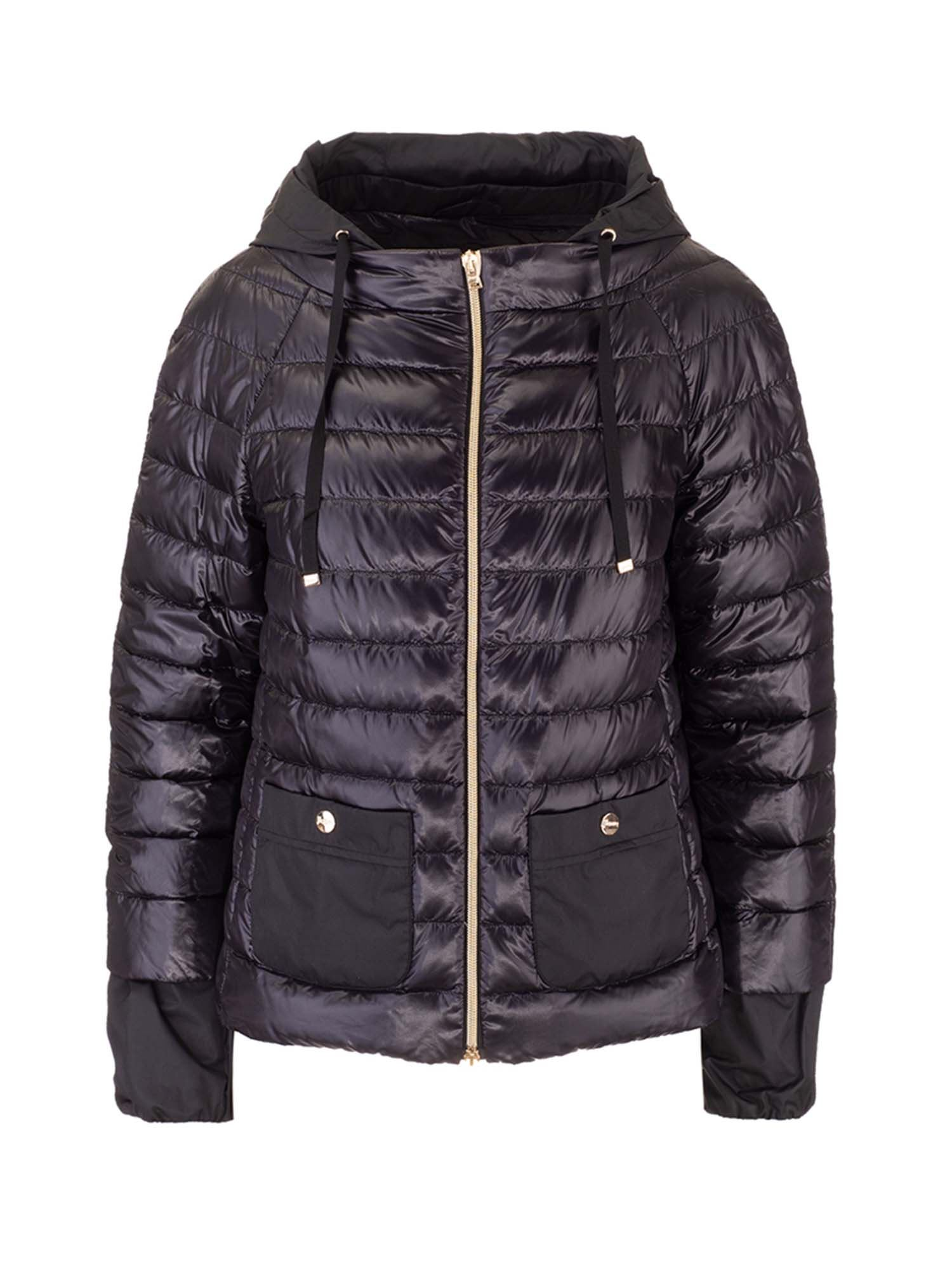 Herno LIGHTWEIGHT QUILTED DOWN JACKET IN BLACK