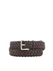 Orciani - Woven leather belt