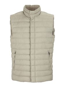 Herno - Lo Smanicato padded vest in beige