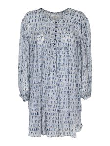 Isabel Marant Étoile - Silorion dress in light blue