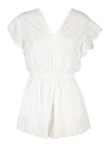 Isabel Marant Étoile - Tadeo short jumpsuit in white