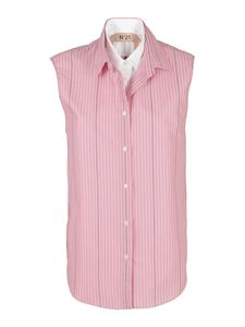 N° 21 - Two-tone shirt in pink
