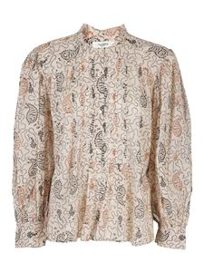 Isabel Marant Étoile - Adigra cotton blouse in ecru