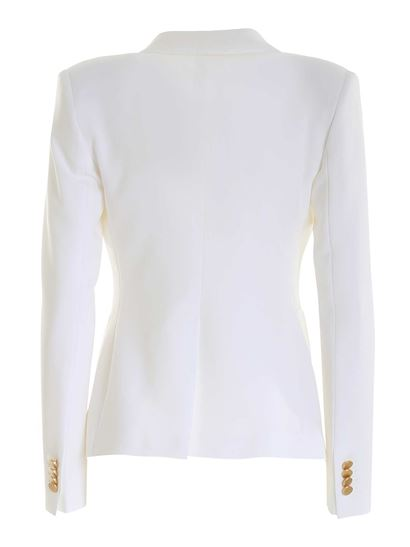 Tagliatore - Double-breasted jacket in white