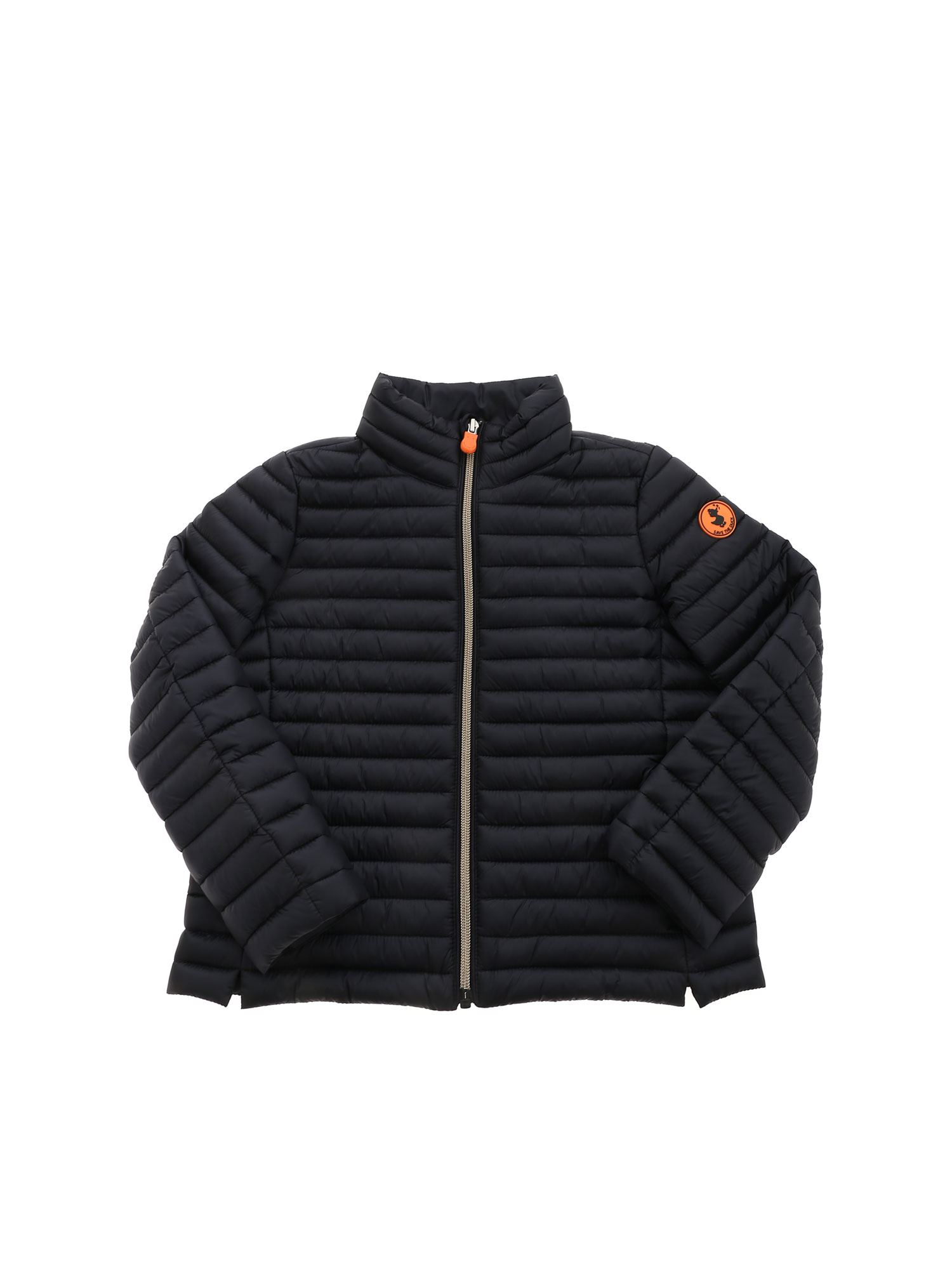 Save The Duck QUILTED PUFFER JACKET IN BLACK
