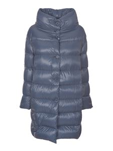 Herno - Biodegradable down jacket in light blue