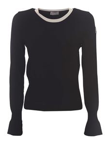 Moncler - Bell sleeves sweater in black