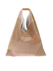 MM6 Maison Margiela - Japanese bag in beige and pink