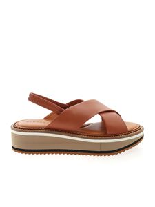 Clergerie - Freedom5 sandals in brown