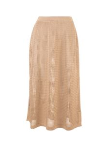 Loro Piana - Otranto skirt in Sunny Sand color
