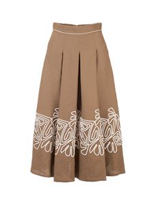 Loro Piana - Dolly skirt in Coriander Powder