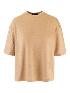 Loro Piana - Crewneck t-shirt in Sunny Sand color
