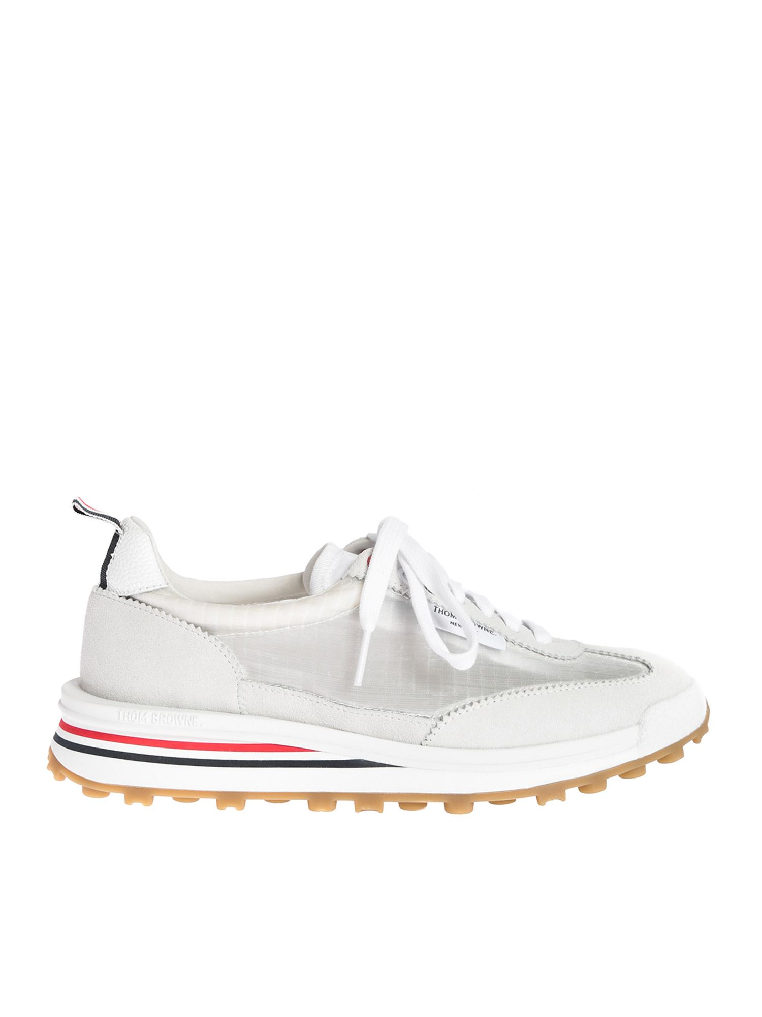 Thom Browne RIPSTOP RUNNERS IN WHITE