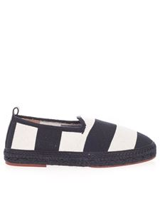 Loro Piana - Gallipoli Espadrilles in blue and white