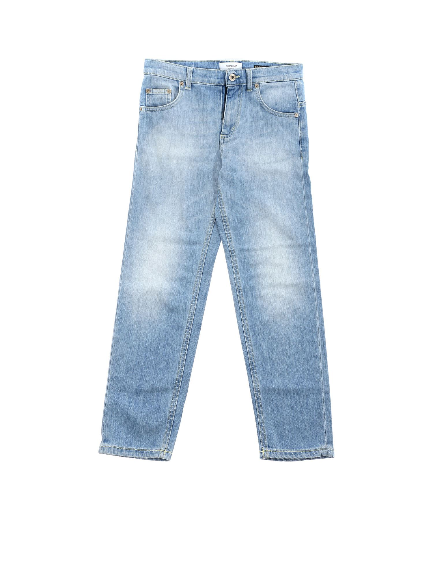 Dondup Bright Jeans In Light Blue