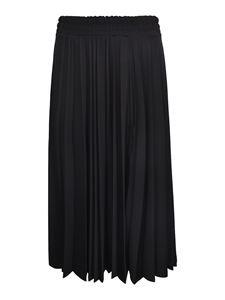 Zucca - Pleather skirt in black