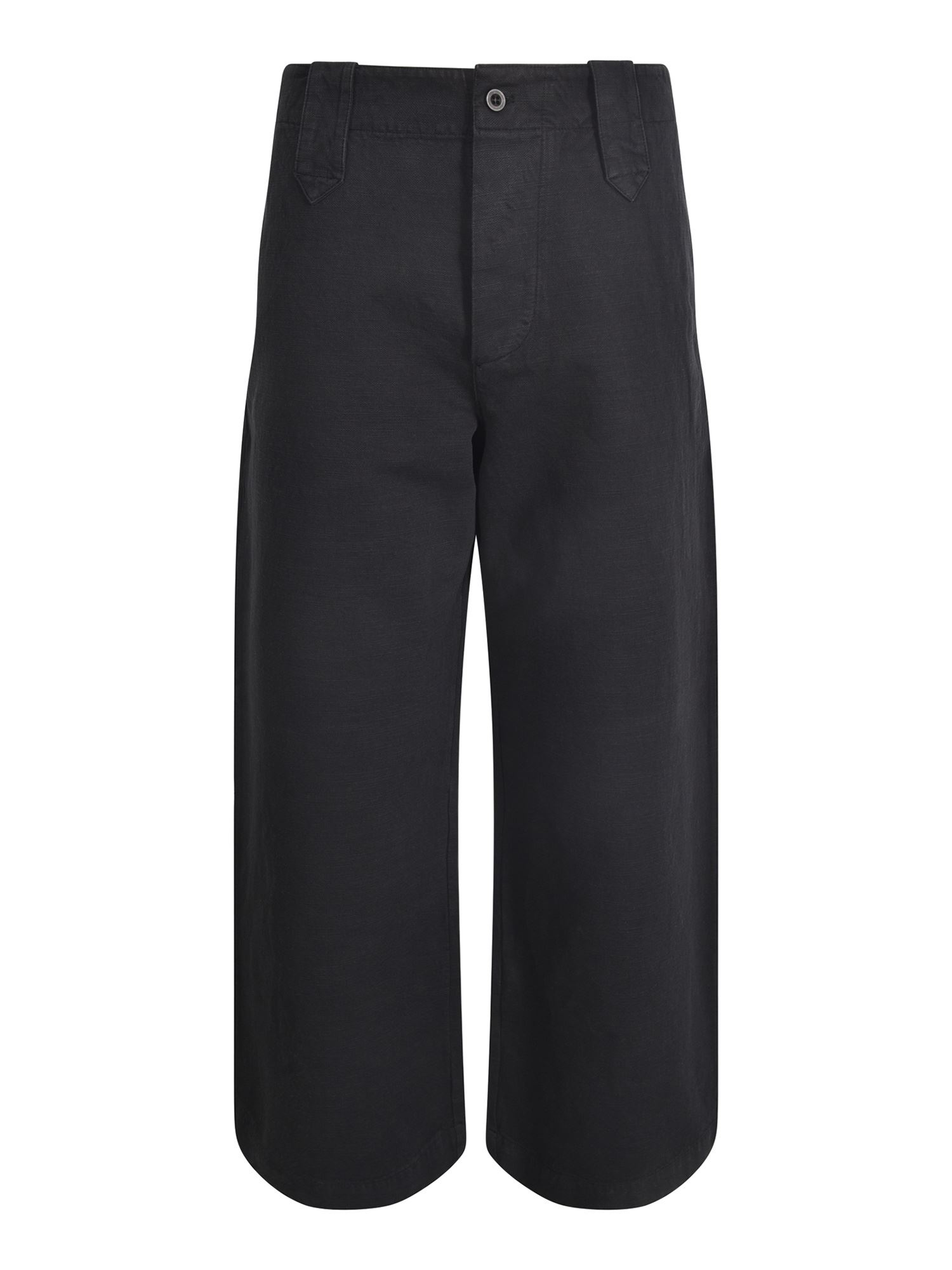 Labo.art JORGE TROUSERS IN BLACK