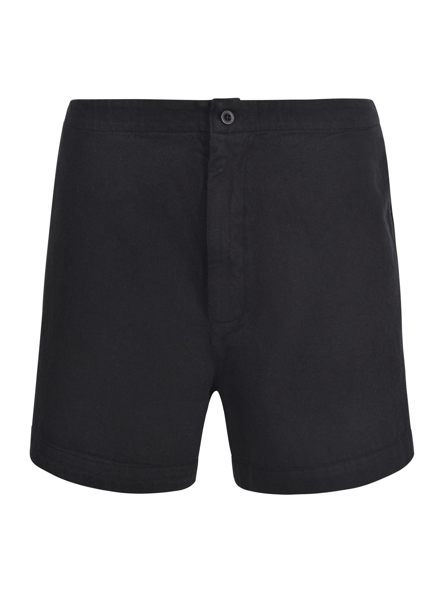 Labo.art COTTON SHORTS IN BLACK