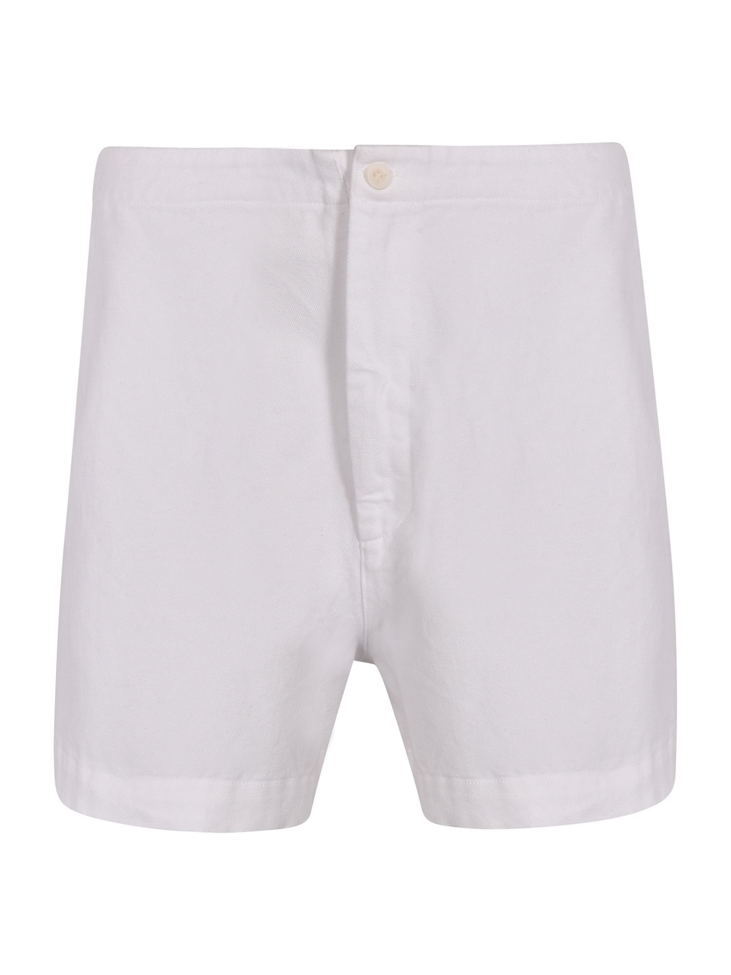 Labo.art COTTON SHORTS IN WHITE
