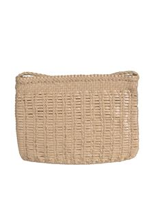 Dragon Diffusion - Bali Large clutch bag in Pearl color