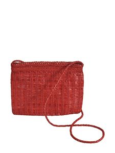 Dragon Diffusion - Bali Large clutch bag in red