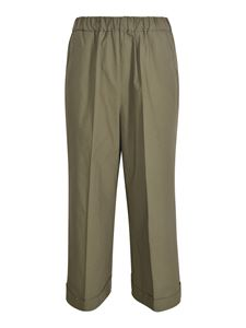 Kiltie - Olivia trousers in army green