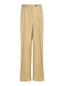 massimo alba - Kate pants in Mustard color