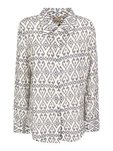 massimo alba - Mias printed shirt in grey