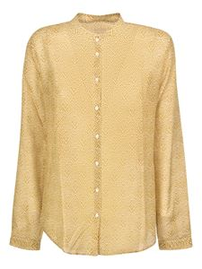 massimo alba - Silk blend shirt in Mustard color