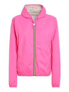 K-way - Lily Plus Double Fluo jacket in pink