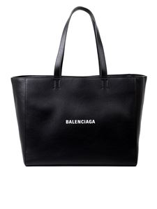 Balenciaga - Large Everyday East-West tote bag in black