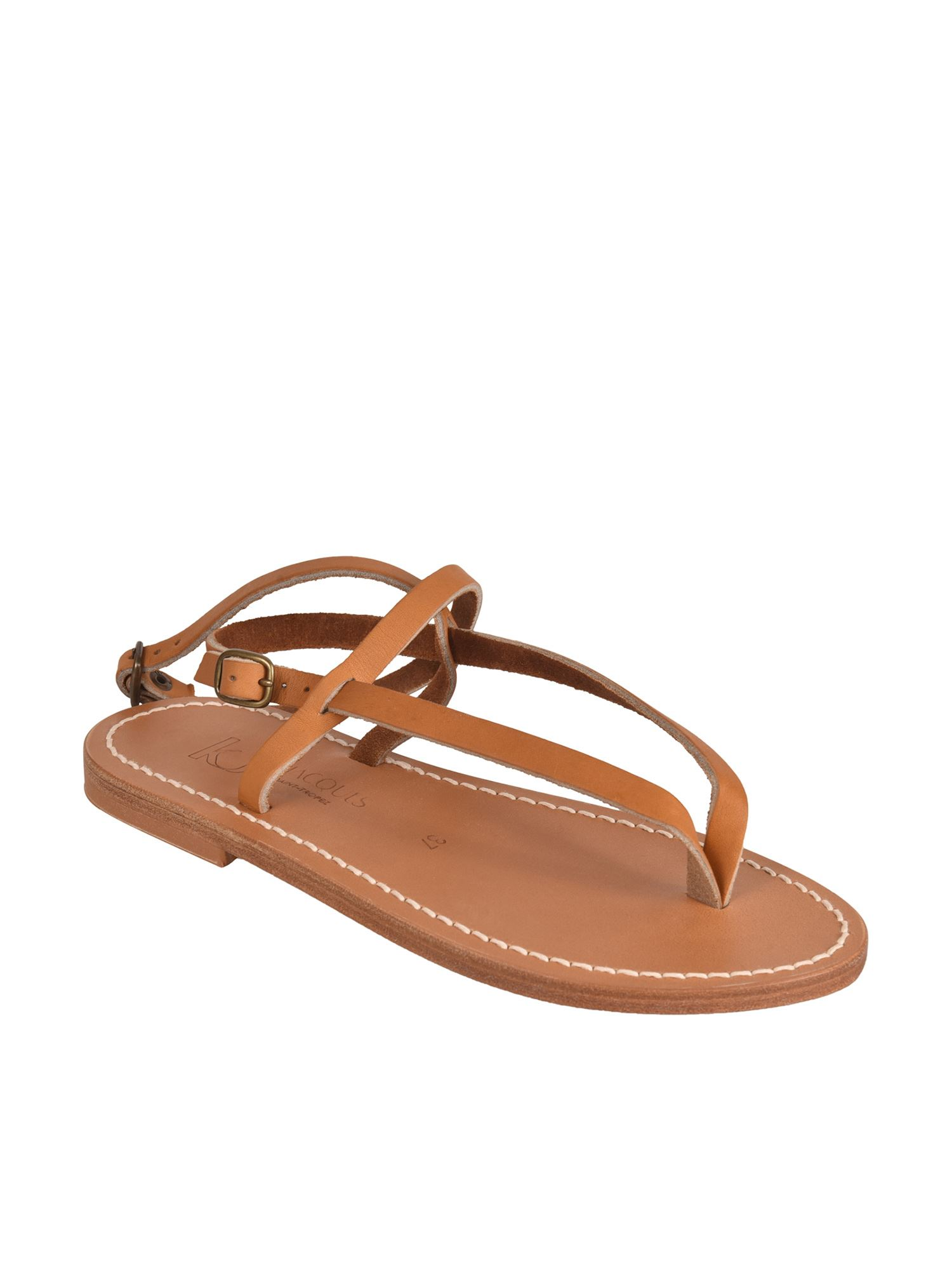 K.jacques ABAKO SANDALS IN NATUREL COLOR