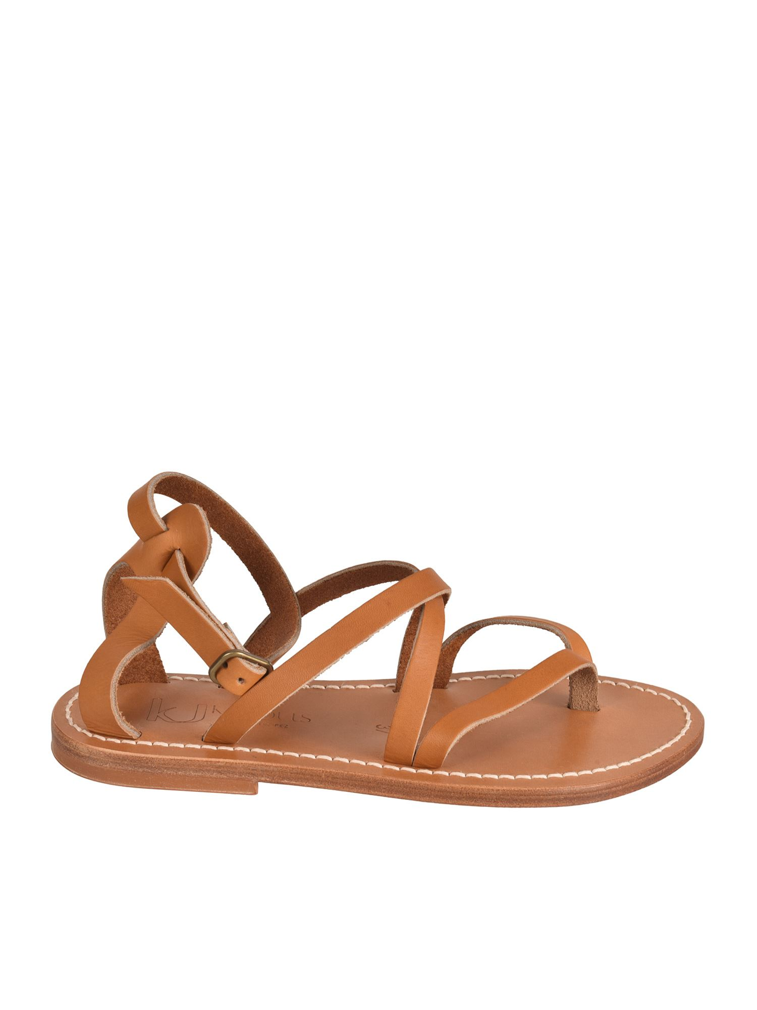 K.jacques EPICURE SANDALS IN NATUREL COLOR