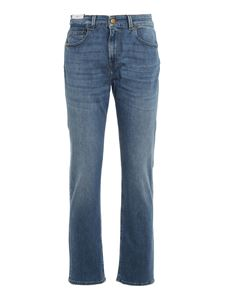 PT Torino - Straight leg stretch jeans in blue