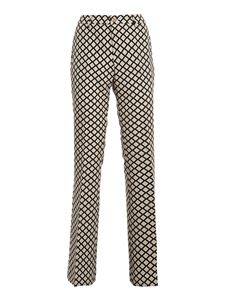 PT Torino - Elsa trousers in beige and black