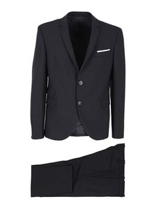 Neil Barrett - Wool blend suit in blue