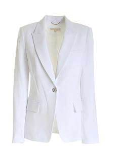 Michael Kors - Single-breasted jacket in white