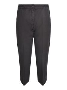 massimo alba - Sparus pants in black