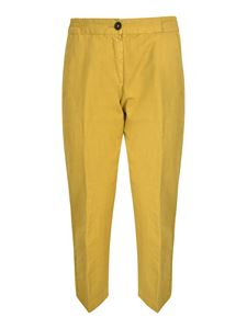 massimo alba - Sparus pants in mustard color
