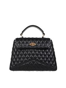 Ballantyne - Diamond Matellassé bag in black
