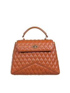 Ballantyne - Diamond Matellassé bag in brown