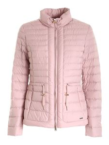 Woolrich - Hibiscus padded jacket in pink