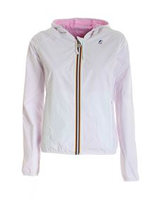 K-way - Lily Plus Double jacket in white