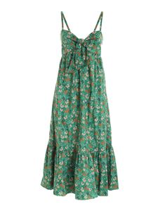 L'Autre Chose - Bow dress in green